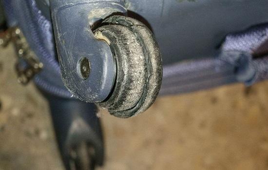 reparar ruedas mochila totto